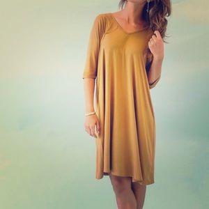 A&D Mustard Dress
